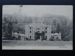 Scotland Roxburghshire Hawick STOBS CASTLE & Military Camp c1903 UB Postcard