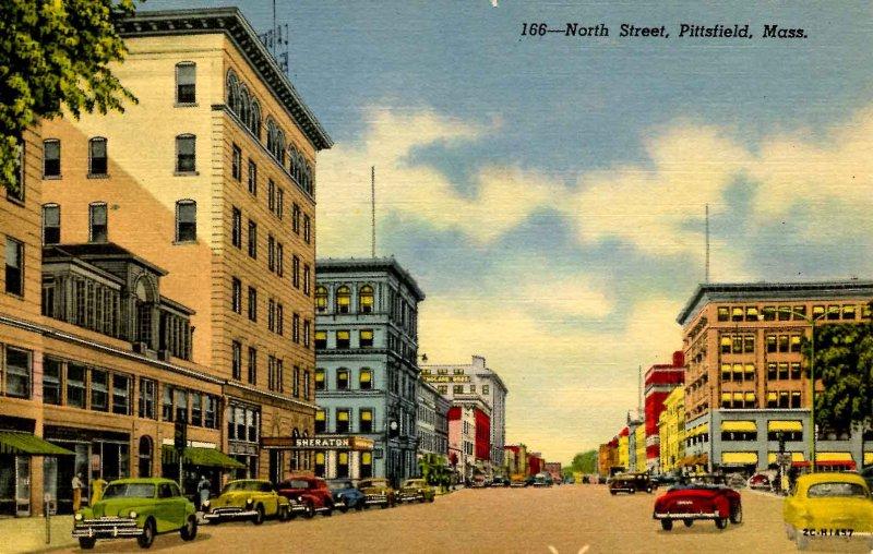 MA - Pittsfield. North Street