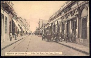 argentina, ROSARIO de SANTA-FE, Calla San Juan, Library (1910s)