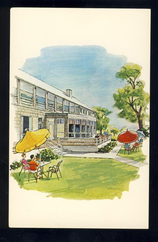 Nantucket, Massachusetts/Mass/MA Postcard, White Elephant Resort Patio, Cape Cod