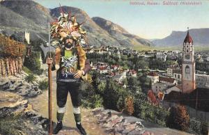 Meran Merano Italy Subtirol Saltner Weinhuter Antique Postcard J65628