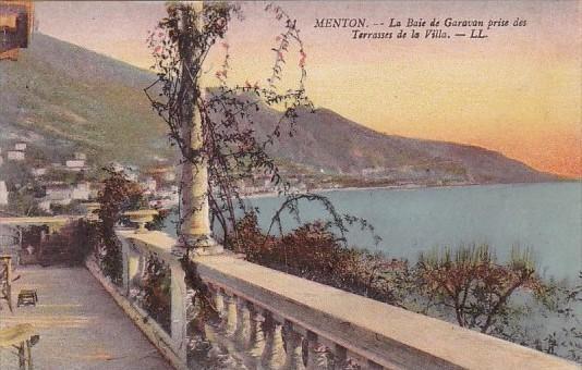France Monton Le Baie dee Garavan prise des Terrasses de la Ville