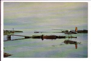 Pontoon Airplane, Boats, Moose River Moosonee, Ontario
