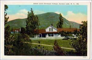 Robert Louis Stevenson Cottage, Saranac Lake NY