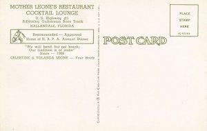 Hallandale FL, Florida - Mother Leone's Restaurant and Cocktail Lounge