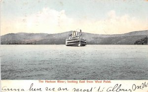 Looking East from West Point Hudson River, New York Postcard