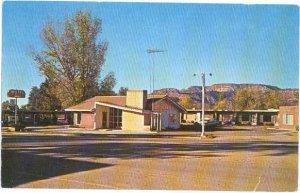 Motel Conoco Kanab Utah on U.S. 89 UT,  1960 Chrome