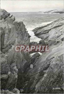 Modern Postcard Quiberon (Morbihan) Blow Hole
