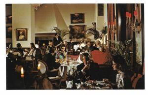 IL Chicago Jacques French Restaurant Chateau Dining Room Advertising Postcard