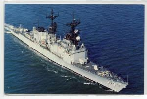 USS Caron DD-970 Destroyer US Navy Ship Warship postcard