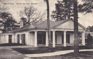 Kress Hall Warm Springs Georgia Albertype