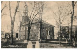 Virginia Alexandria  Christ Church, Geo.Washington was a Vestryman