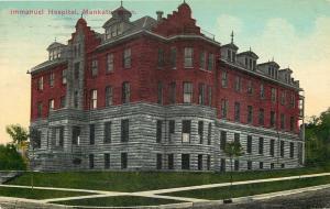 Mankato Minnesota~Immanuel Hospital~1914 Postcard