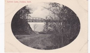 NUTANA , Saskatchewan , Canada , 1901-07 ; Bridge over Lover's Lane