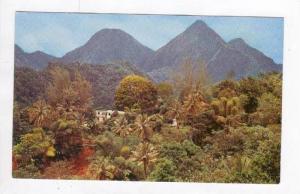 Les Pitons Du Carbet,Carbet Peaks,La Martinique,40-60s