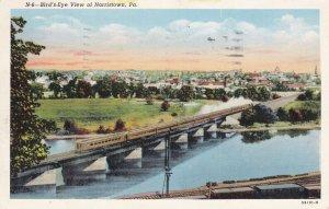 NORRISTOWN , Pennsylvania , PU-1948; Bird's Eye View