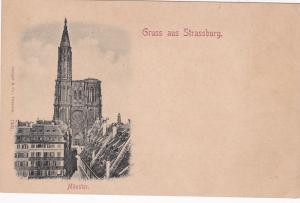 Munster, Gruss Aus Strassburg (Bas Rhin), France, 1900-1910s