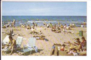 Swimming and Sunbathing, Cavendish Beach, Prince Edward Island