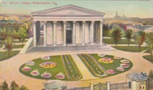 Girard College & Flower Garden, Philadelphia, Pennslyvania 1900-10s