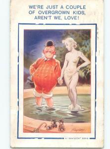 Bamforth COMIC SCENE Great Postcard AA9967