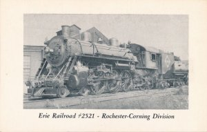Erie Railroad # 2521 in 1941 - Rochester Corning Trains NY, New York