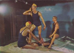 Coledale Australia Life Savers Swimmers Beach Guard Kiss Of Life Postcard