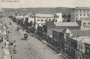 DURBAN , South Africa , 1914 ; West Street
