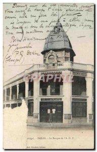 Old Postcard Dakar From The Bank & # 39AOF Senegal