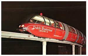 The Dutch Wonderland Monorail Lancaster, Pennsylvania Postcard