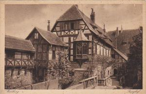 Germany Wartburg bei Eisenach Burghof