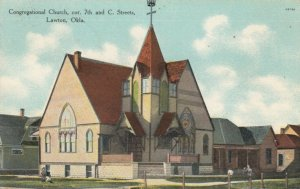 LAWTON , Oklahoma, 1900-10s; Congregational Church, cor. 7th & C. Streets