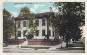 SPRINGFIELD , Illinois , 1910-20s ; Lincoln Home
