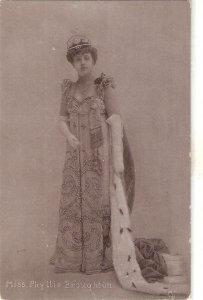 Miss Phyllis Broughton Tuck Silverette Ser. PC # 5316