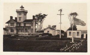 RP: Port Hueneme LIGHTHOUSE , California  , 1920-30s