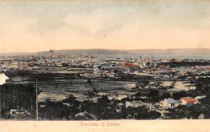 South Africa Durban panorama postcard
