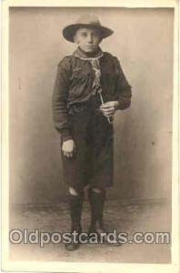 Scout Scouts Postcard Postcards