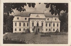 Hungary Lovaszpatona school real photo postcard