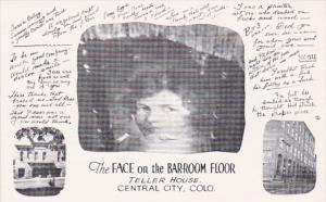 Colorado Central City Face On The Bar Room Floor Teller House