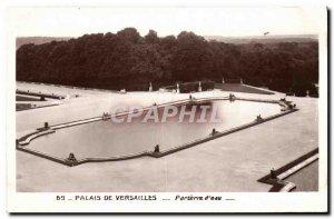 Old Postcard Palace Of Versailles Parterre d & # 39eau