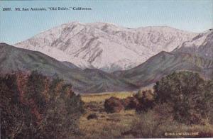 California Mount San antonio Old Baldy