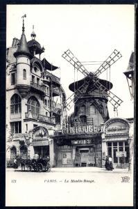 Le Moulin Rouge,Paris,France