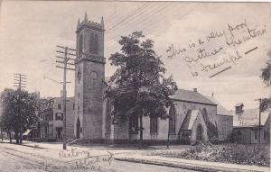 RANWAY, New Jersey, PU-1912; St. Paul's D. E. Church