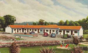 Exterior,Gateway Motel, Ontario, Canada,PU-1974
