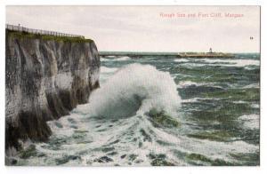 Rough Sea & Cliff, Margate