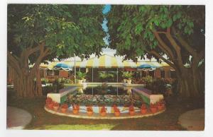 FL Fort Lauderdale Terrace Patio Restaurant Cocktail Lounge Vintage Postcard