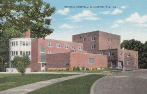 MARINETTE , Wisconsin , 1930-40s ; General Hospital