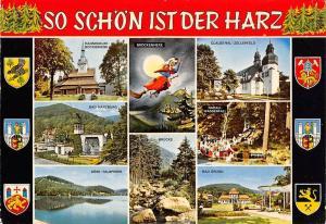 So Schoen ist der Harz, Brockenhexe Bruecke Bad Grund Bad Harzburg Wasserfall