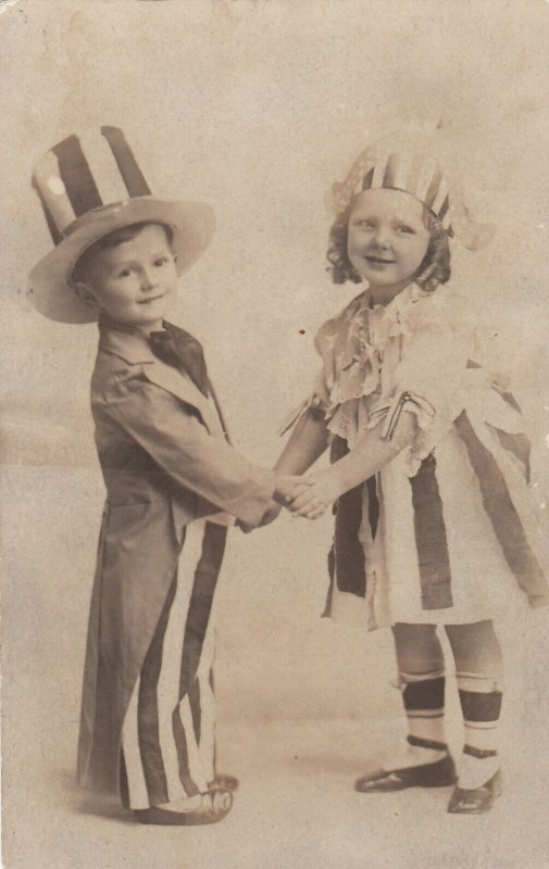 RP: Child Uncle Sam & Child Miss Liberty , 00-10s