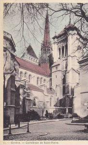 Cathedrale De Saint-Pierre, Geneve, Switzerland, 1900-1910s
