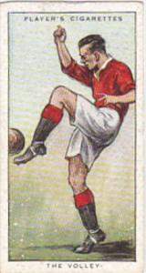 Cigarette Card Player Association Football Hints 1934 No 2 The Volley